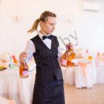 Обслуживание официантами