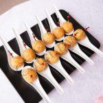 Сырные шарики в ореховой стружке
