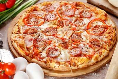 Миланская пицца Главная