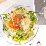 Французский салатик из овощей с кедровым орехом