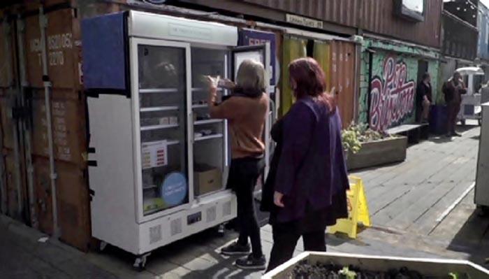 Холодильник в Лондоне
