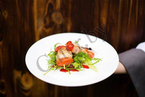 Шашлычки из морской форели с помидоркой черри - главная