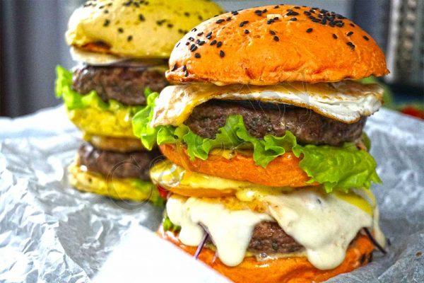 Бургер с говядиной1