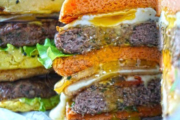 Бургер с говядиной 2